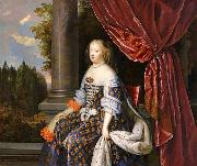 NOCRET, Jean as Queen of France oil painting